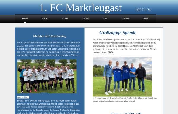 Vorschau von www.fc-marktleugast.de, FC Marktleugast 1927