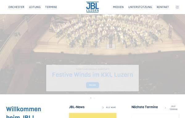 Vorschau von www.jbl-luzern.ch, Jugend-Blasorchester der Stadt Luzern