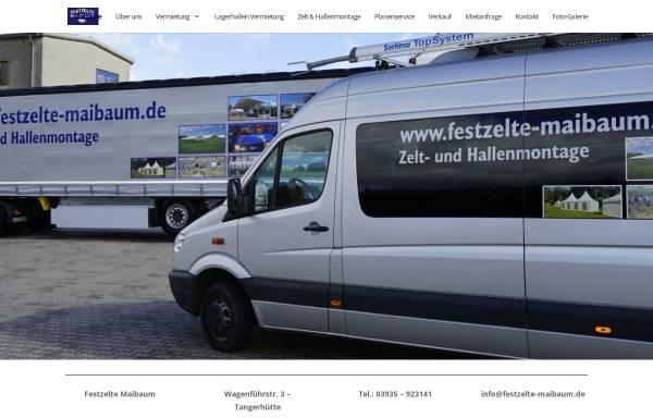Vorschau von www.festzelt-maibaum.de, Festzelt-Maibaum
