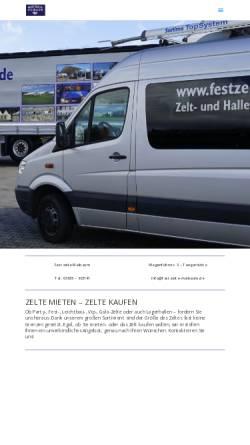 Vorschau der mobilen Webseite www.festzelt-maibaum.de, Festzelt-Maibaum