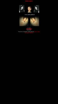 Vorschau der mobilen Webseite www.esther-ofarim.de, Ofarim, Esther und Abi