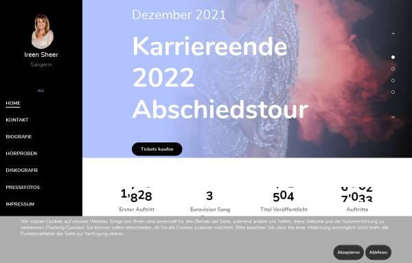 Vorschau von www.ireensheer.de, Sheer, Ireen