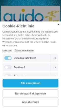 Vorschau der mobilen Webseite das-guido-marl.de, Guido-Heiland-Bad