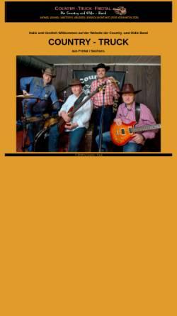 Vorschau der mobilen Webseite www.country-truck.de, Country-Truck aus Freital