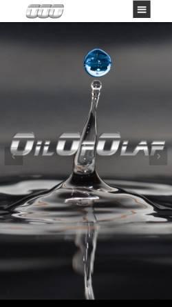 Vorschau der mobilen Webseite www.oilofolaf.ch, Oilofolaf
