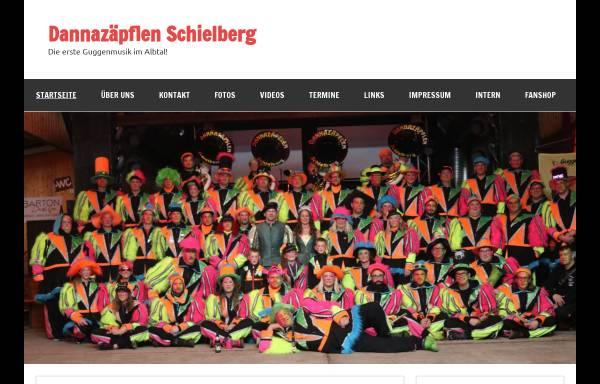 Vorschau von www.dannazaepflen-schielberg.de, Guggenmusik Dannazäpflen aus Schielberg