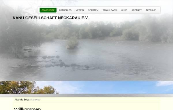 Vorschau von www.kgneckarau.de, Kanu-Gesellschaft Neckarau e.V.
