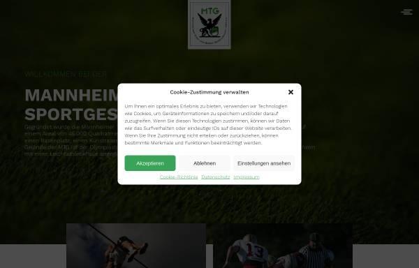Vorschau von www.mtg-mannheim.de, MTG Mannheim