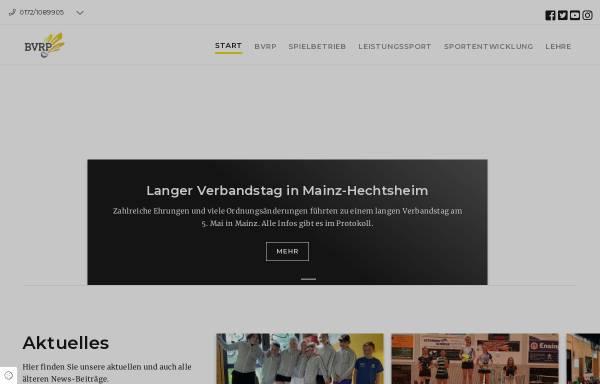 Vorschau von badminton-rlp.de, Badmintonverband Rheinhessen-Pfalz e.V.