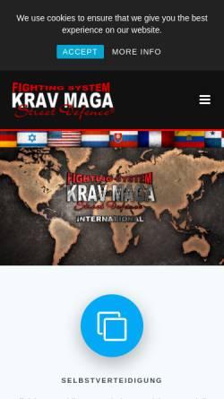 Vorschau der mobilen Webseite www.krav-maga-essen.de, Krav Maga Street Defence