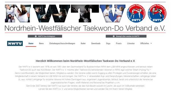 Vorschau von www.nwtv.de, Nordrhein-Westfälischer Taekwon-Do Verband e.V. (NWTV)