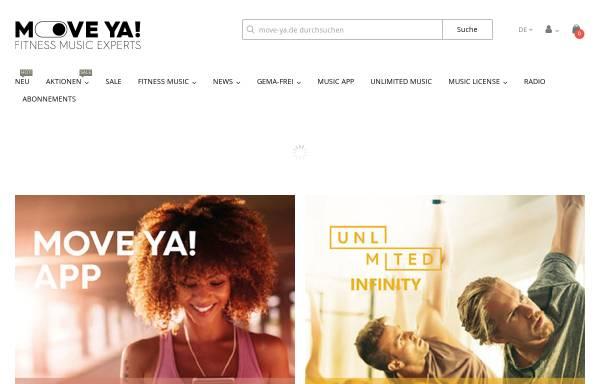 Vorschau von www.move-ya.de, Move Ya! Lifestyle Kontor GmbH