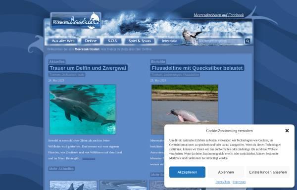 Vorschau von www.meeresakrobaten.de, Delfine und Wale [meeresakrobaten.de]