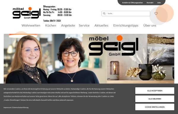Vorschau von www.moebel-geigl.de, Möbel Geigl