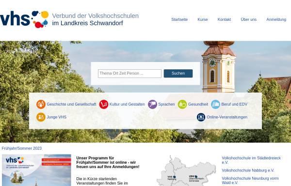 Vorschau von vhs-staedtedreieck.de, Volkshochschule im Städtedreieck e.V.