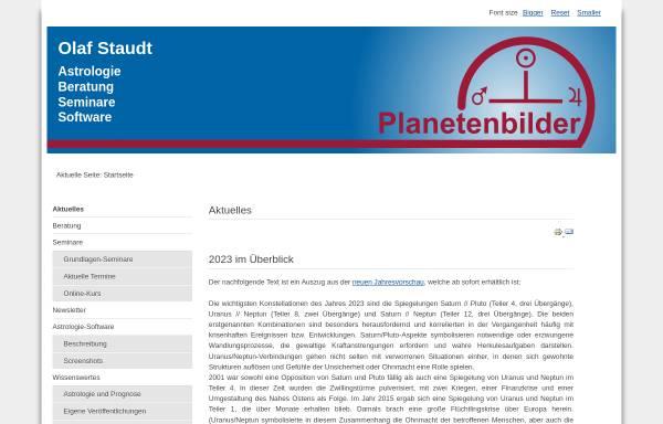 Vorschau von www.planetenbilder.com, Planetenbilder