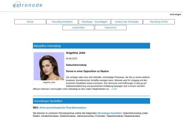 Vorschau von www.astronode.de, Astronode