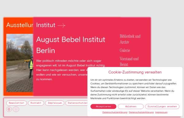 Vorschau von www.august-bebel-institut.de, August-Bebel-Institut Berlin