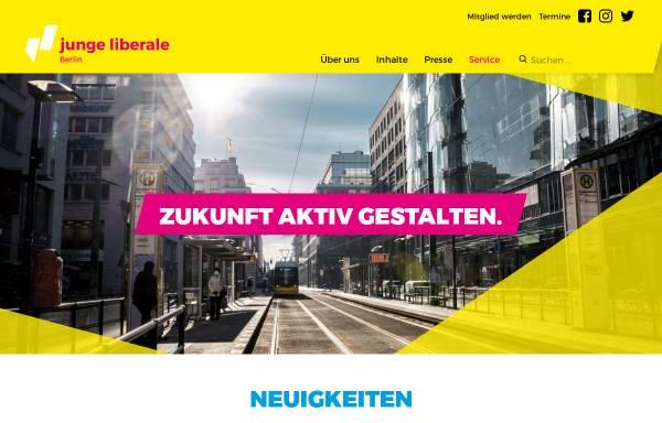 Vorschau von www.julis-berlin.de, JuLis - Junge Liberale Berlin