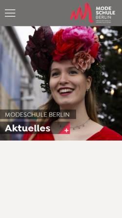Vorschau der mobilen Webseite www.osz-bekleidung-mode.de, OSZ Bekleidung und Mode