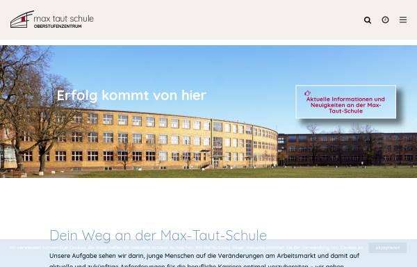 Vorschau von www.max-taut-schule.de, OSZ Max-Taut-Schule in Berlin - Lichtenberg
