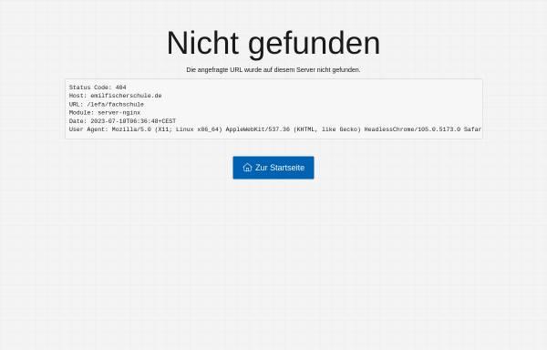 Vorschau von www.lefa-berlin.de, Staatlichen Fachschule für Lebensmitteltechnik - Reinickendorf