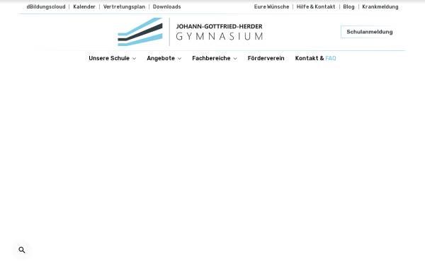 J G Herder Gymnasium In Berlin Gymnasien Schule Jgherderde