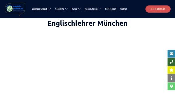 Vorschau von www.english-munich.de, English-Munich [Franz Seidenfuß]