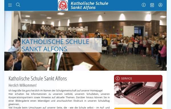 Vorschau von www.kssa.de, Katholische Schule Sankt Alfons