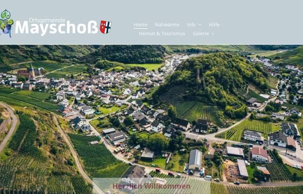 Vorschau von www.mayschoss.de, Mayschoss
