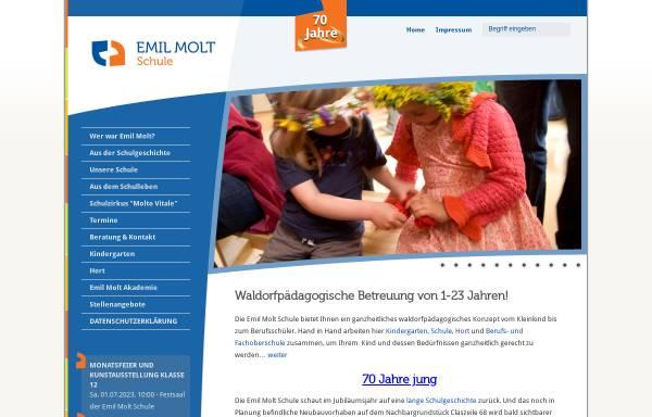 Vorschau von www.emil-molt-schule.de, Emil Molt Schule