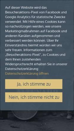 Vorschau der mobilen Webseite www.winzergenossenschaft-mayschoss.de, Restaurant Winzerverein Mayschoß