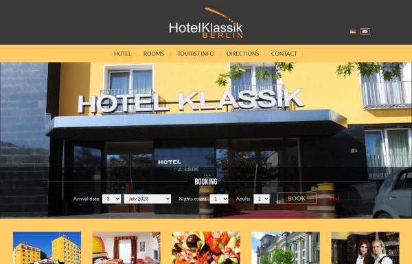 Vorschau von www.hotelklassik-berlin.de, Klassik in Berlin