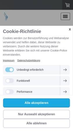 Vorschau der mobilen Webseite www.kaeltelehrgaenge-brhv.de, Deutscher Kälte- und Klimatechnischer Verein, Bezirk Weser/Ems