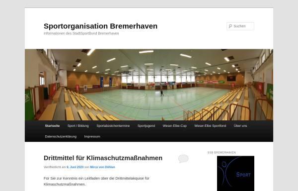 Vorschau von www.sportstadt-bremerhaven.de, Kreissportbund Bremerhaven e.V.