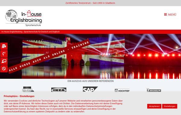 Vorschau von www.in-house-englishtraining.de, In-House Englishtraining