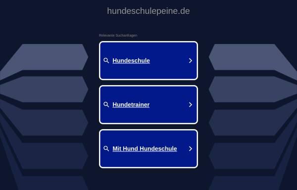 Vorschau von www.hundeschulepeine.de, Hundeschule Andreas Peine