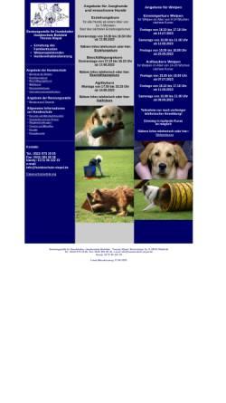 Vorschau der mobilen Webseite www.hundeschule-niepel.de, Hundeschule Bielefeld, Inhaber Thomas Niepel