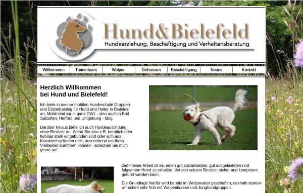 Vorschau von www.hundewelt-bielefeld.de, Hundewelt Bielefeld, Inhaberin Katja Hackenberg