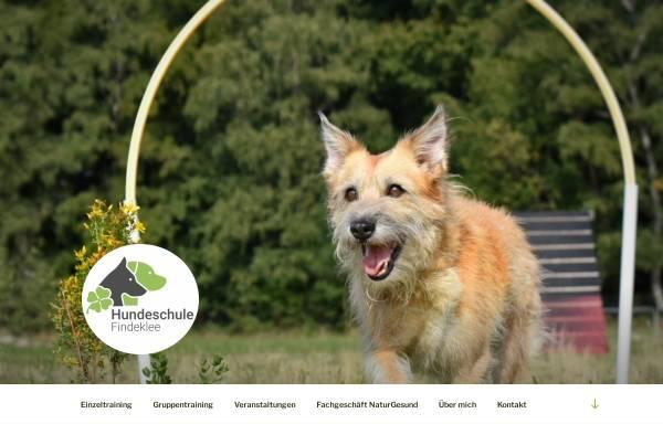 Vorschau von www.hundeschule-findeklee.de, Hundeschule Findeklee
