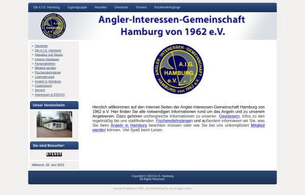 Vorschau von www.aig-hamburg.de, A.I.G. - Hamburg