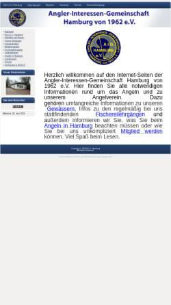 Vorschau der mobilen Webseite www.aig-hamburg.de, A.I.G. - Hamburg