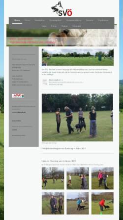 Vorschau der mobilen Webseite www.svoe-zeiselmauer.at, Österreichischer Verein für Deutsche Schäferhunde in Zeiselmauer