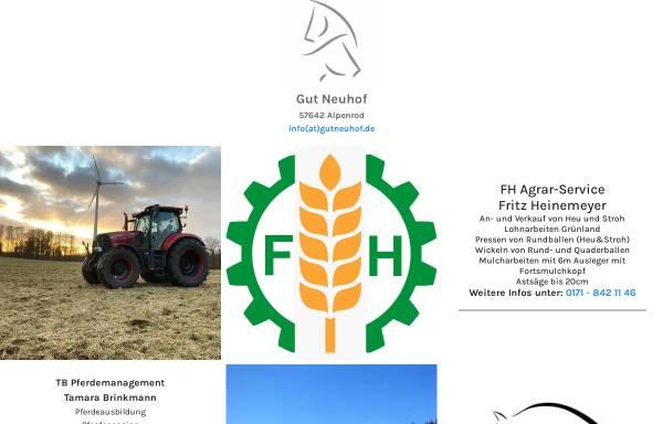 Gut Neuhof in Alpenrod: Deutschland, Englische Reitweise gutneuhof.de