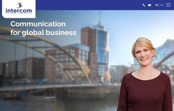 Vorschau von www.intercom-language.de, Intercom Language Services GmbH