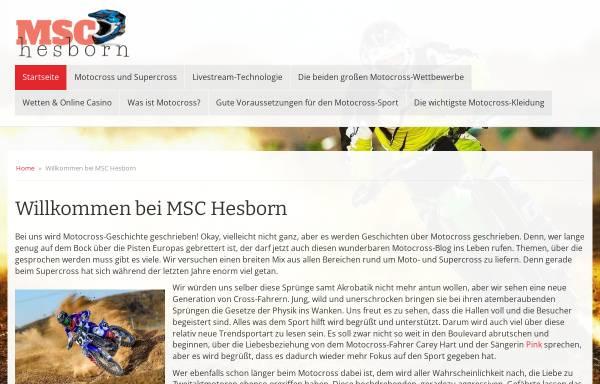 MSC Hesborn e.V.: Deutschland, Clubs und Vereine msc-hesborn.de