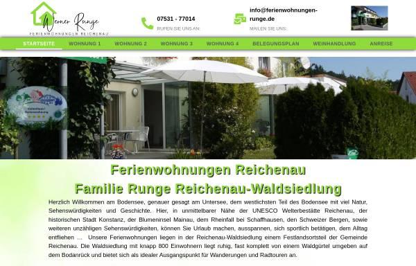 Vorschau von ferienwohnungen-runge.de, Ferienwohnungen Runge
