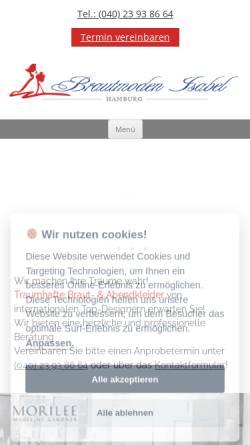 Brautmoden Isabel In Hamburg Bekleidung Wirtschaft Brautmoden