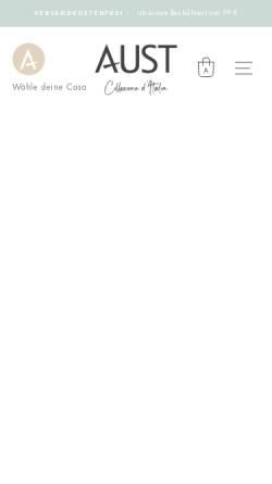 Vorschau der mobilen Webseite www.austfashion.com, Knoop-Troullier Moden KG