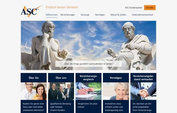 Vorschau von www.asc-finanz.de, ASC-Finanz